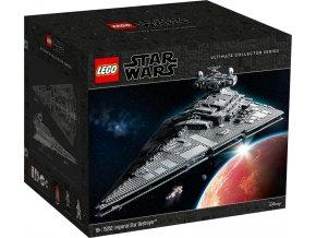 LEGO STAR WARS 75252 Imperiální hvězdný destruktor  + volná rodinná vstupenka do Muzea LEGA Tábor v hodnotě 370 Kč