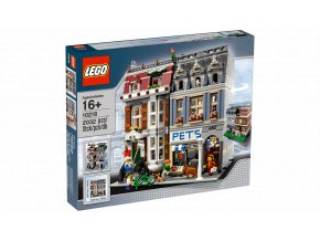 LEGO 10218 Zverimex  + volná rodinná vstupenka do Muzea LEGA Tábor v hodnotě 370 Kč