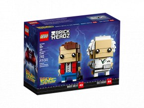 LEGO BrickHeadz 41611 Marty McFly a doktor Brown