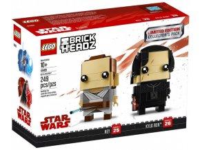 LEGO BrickHeadz 41489 Rey & Kylo Ren