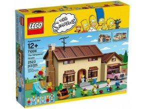 LEGO 71006 The Simpsons House  + volná rodinná vstupenka do Muzea LEGA Tábor v hodnotě 370 Kč