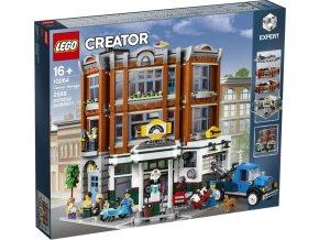 LEGO Creator 10264 Rohová garáž  + volná rodinná vstupenka do Muzea LEGA Tábor v hodnotě 370 Kč