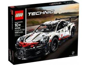 Lego TECHNIC 42096 Porsche 911 RSR  + volná rodinná vstupenka do Muzea LEGA Tábor v hodnotě 370 Kč