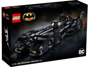 LEGO 76139 Super Heroes 1989 Batmobil  + volná rodinná vstupenka do Muzea LEGA Tábor v hodnotě 370 Kč