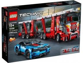 Lego Technic 42098 Kamion pro přepravu aut  + volná rodinná vstupenka do Muzea LEGA Tábor v hodnotě 370 Kč