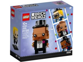 LEGO BrickHeadz 40384 Wedding Groom (Ženich)