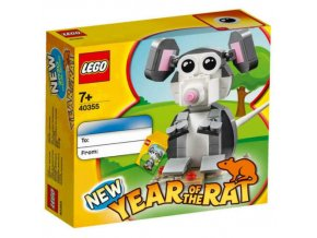 LEGO 40355 Rok krysy (Year of the Rat)