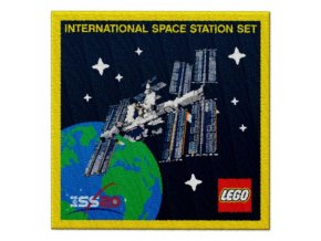 LEGO  5006148 Patch, International Space Station Set, exclusive