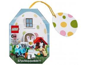 LEGO Seasonal 853990 Velikonoční zajíček s domečkem