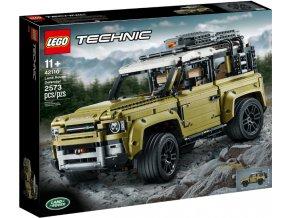 Lego TECHNIC 42110 Land Rover Defender  + volná rodinná vstupenka do Muzea LEGA Tábor v hodnotě 370 Kč