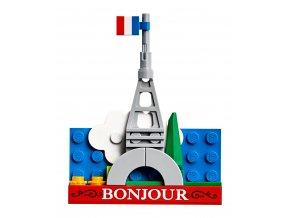 LEGO 854011 Magnetický model – Eiffelova věž