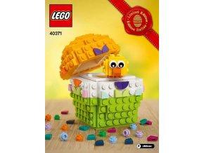 LEGO 40371 Velikonoční vajíčko
