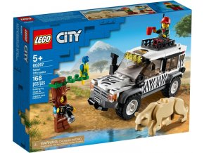 LEGO CITY 60267 Teréňák na safari