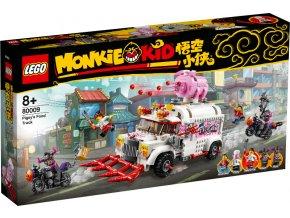 LEGO Monkie Kid 80009 Pigsyho pojizdné občerstvení