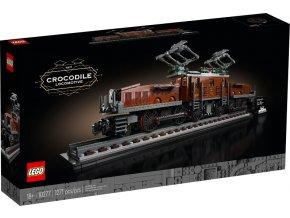 Lego Creator 10277 Lokomotiva Krokodýl  + volná rodinná vstupenka do Muzea LEGA Tábor v hodnotě 370 Kč