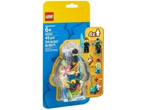 LEGO CITY 40344 Sada minifigurek – Letní prázdniny