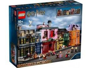LEGO Harry Potter 75978 Příčná ulice  + volná rodinná vstupenka do Muzea LEGA Tábor v hodnotě 370 Kč