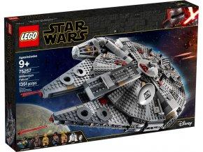 Lego Star Wars 75257 Millennium Falcon™  + volná rodinná vstupenka do Muzea LEGA Tábor v hodnotě 450 Kč