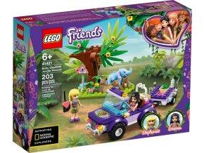 LEGO Friends 41421 Záchrana slůněte v džungli