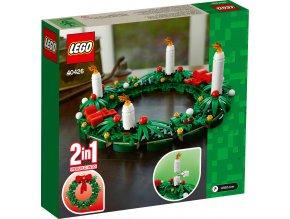LEGO 40426 Vánoční věnec 2 v 1