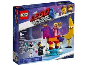 LEGO  MOVIE 70824 Představujeme královnu Libovůli