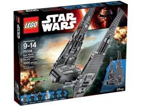 Lego Star Wars 75104 Kylo Ren's Command Shuttle™ (Kylo Renova velitelská loď)
