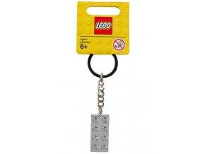 LEGO 851406 Kovový přívěsek na klíče 2 x 4