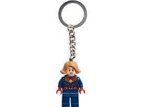 LEGO 854064 Přívěsek na klíče – Kapitánka Marvel