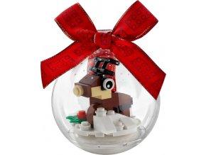 LEGO 854038 Vánoční ozdoba se sobem
