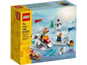 LEGO 40424 Zimní koulovačka