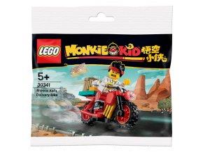 LEGO Monkie Kid 30341 Rozvážková motorka polybag