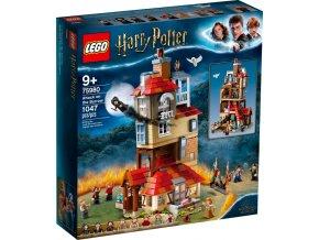 LEGO Harry Potter 75980 Útok na Doupě  + volná rodinná vstupenka do Muzea LEGA Tábor v hodnotě 370 Kč