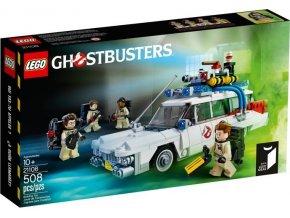 Lego Ideas 21108 Ghostbusters Ecto-1  + volná rodinná vstupenka do Muzea LEGA Tábor v hodnotě 370 Kč