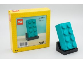 LEGO 6346102 Buildable 2 x 4 Dark Turquoise Brick - Promotional Set