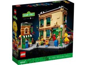 LEGO Ideas 21324 123 Sesame Street  + volná rodinná vstupenka do Muzea LEGA Tábor v hodnotě 370 Kč