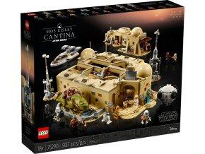 Lego Star Wars 75290 Kantýna Mos Eisley  + volná rodinná vstupenka do Muzea LEGA Tábor v hodnotě 370 Kč