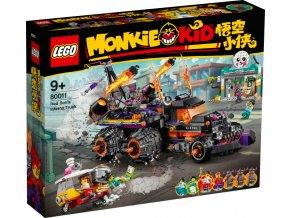 LEGO Monkie Kid 80011 Pekelný vůz Red Sona  + volná rodinná vstupenka do Muzea LEGA Tábor v hodnotě 370 Kč