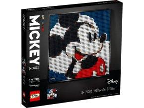 Lego Art 31202 Disney's Mickey Mouse  + volná rodinná vstupenka do Muzea LEGA Tábor v hodnotě 370 Kč