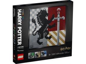 Lego Art 31201 Harry Potter Erby bradavických kolejí