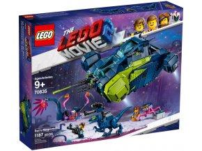 LEGO  MOVIE 70835 Rexův výzkumník  + volná rodinná vstupenka do Muzea LEGA Tábor v hodnotě 370 Kč