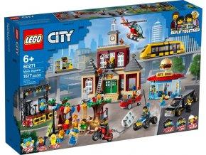 Lego CITY 60271 Hlavní náměstí  + volná rodinná vstupenka do Muzea LEGA Tábor v hodnotě 370 Kč