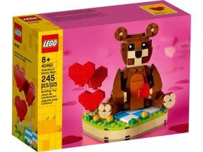 LEGO 40462 Valentýnský medvídek