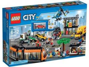 Lego City 60097 Náměstí ve městě  + volná rodinná vstupenka do Muzea LEGA Tábor v hodnotě 370 Kč