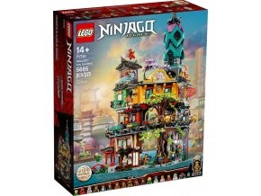LEGO Ninjago 71741 Zahrady v NINJAGO® City  + volná rodinná vstupenka do Muzea LEGA Tábor v hodnotě 370 Kč