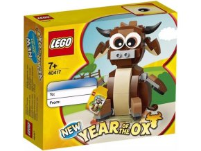 LEGO 40417 Rok bůvola (Year of the Ox)
