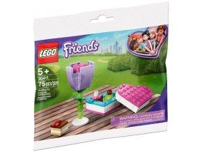 LEGO Friends 30411 Kytka a bonboniéra polybag