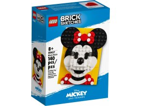 LEGO Brick Sketches™ 40457 Myška Minnie