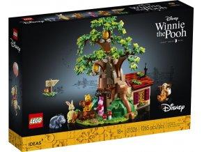 LEGO Ideas 21326 Medvídek Pú  + volná rodinná vstupenka do Muzea LEGA Tábor v hodnotě 370 Kč
