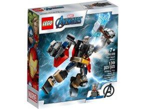 LEGO Marvel 76169 Thor v obrněném robotu