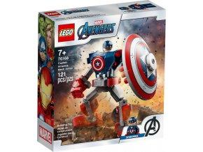 LEGO Marvel 76168 Captain America v obrněném robotu